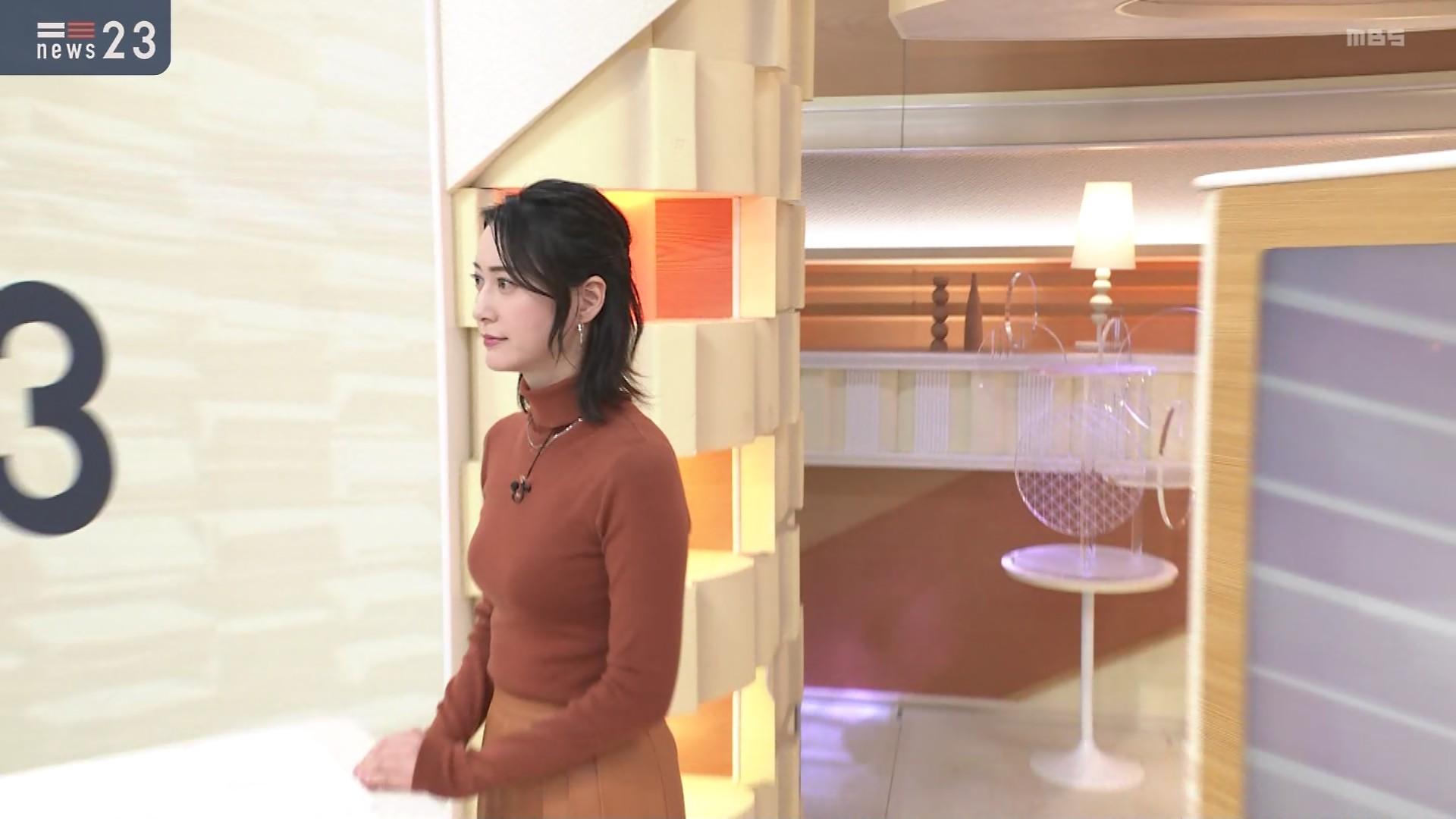 【画像】小川彩佳の乳、でかすぎる