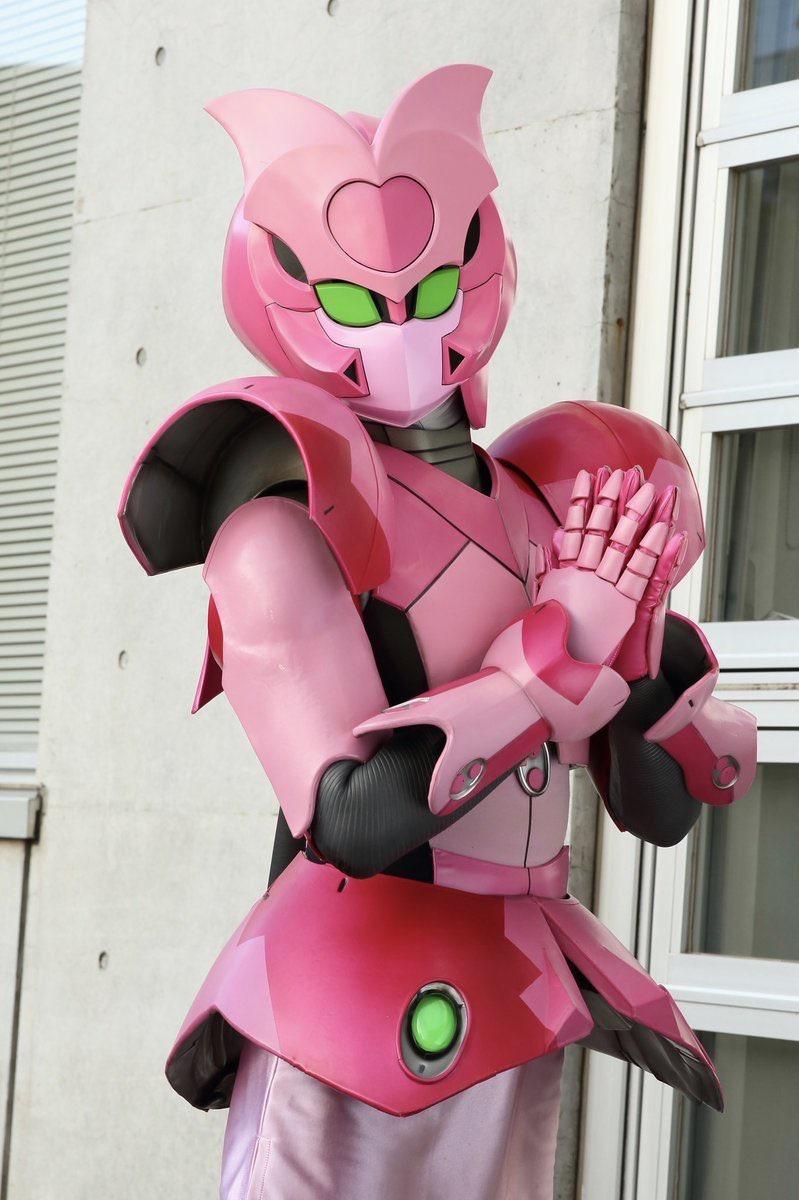 【画像】今やってる戦隊ヒーローのピンクが可愛いwww