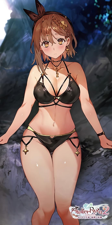 【画像】ライザちゃんの水着姿、Hが過ぎるw