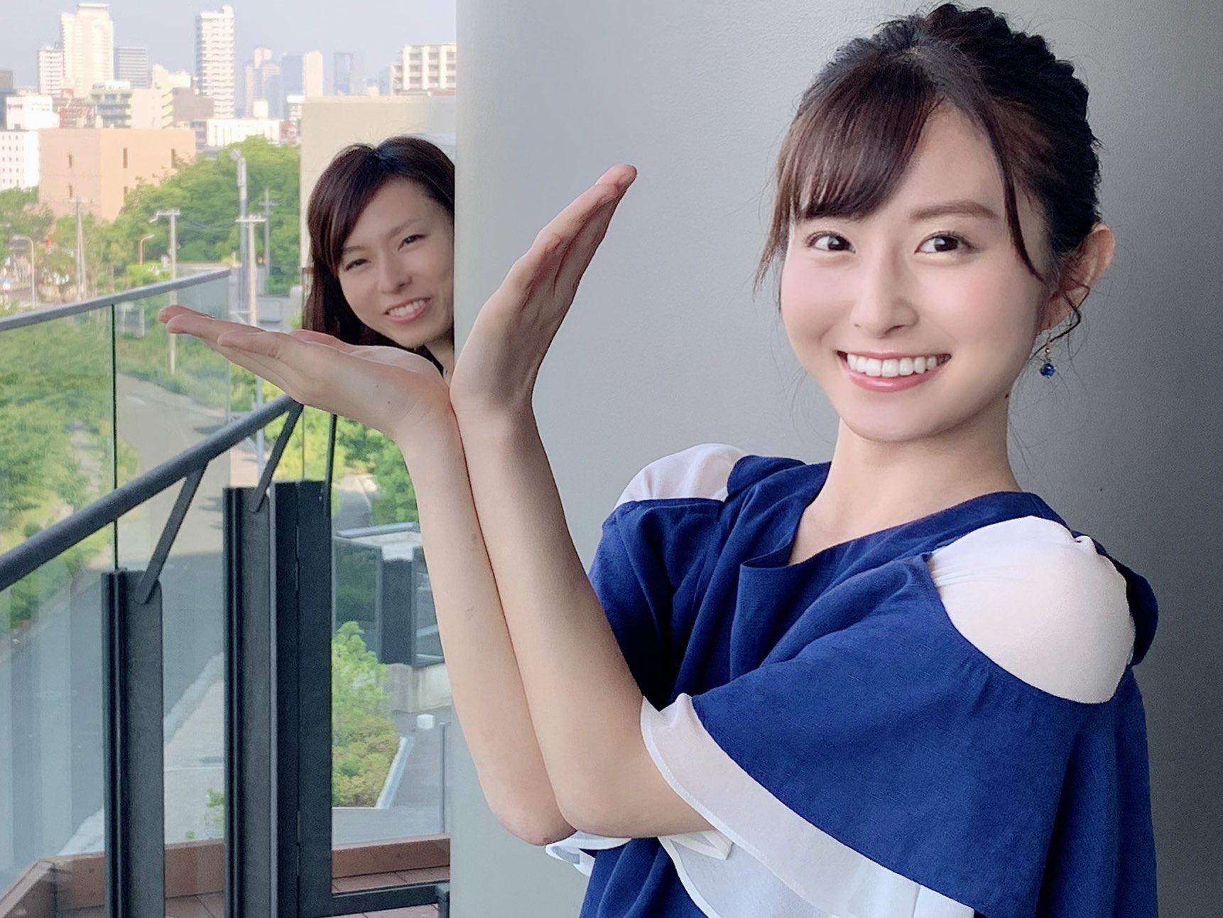 【画像】佐藤佳奈とかいう関西のクッソ可愛い女子アナ