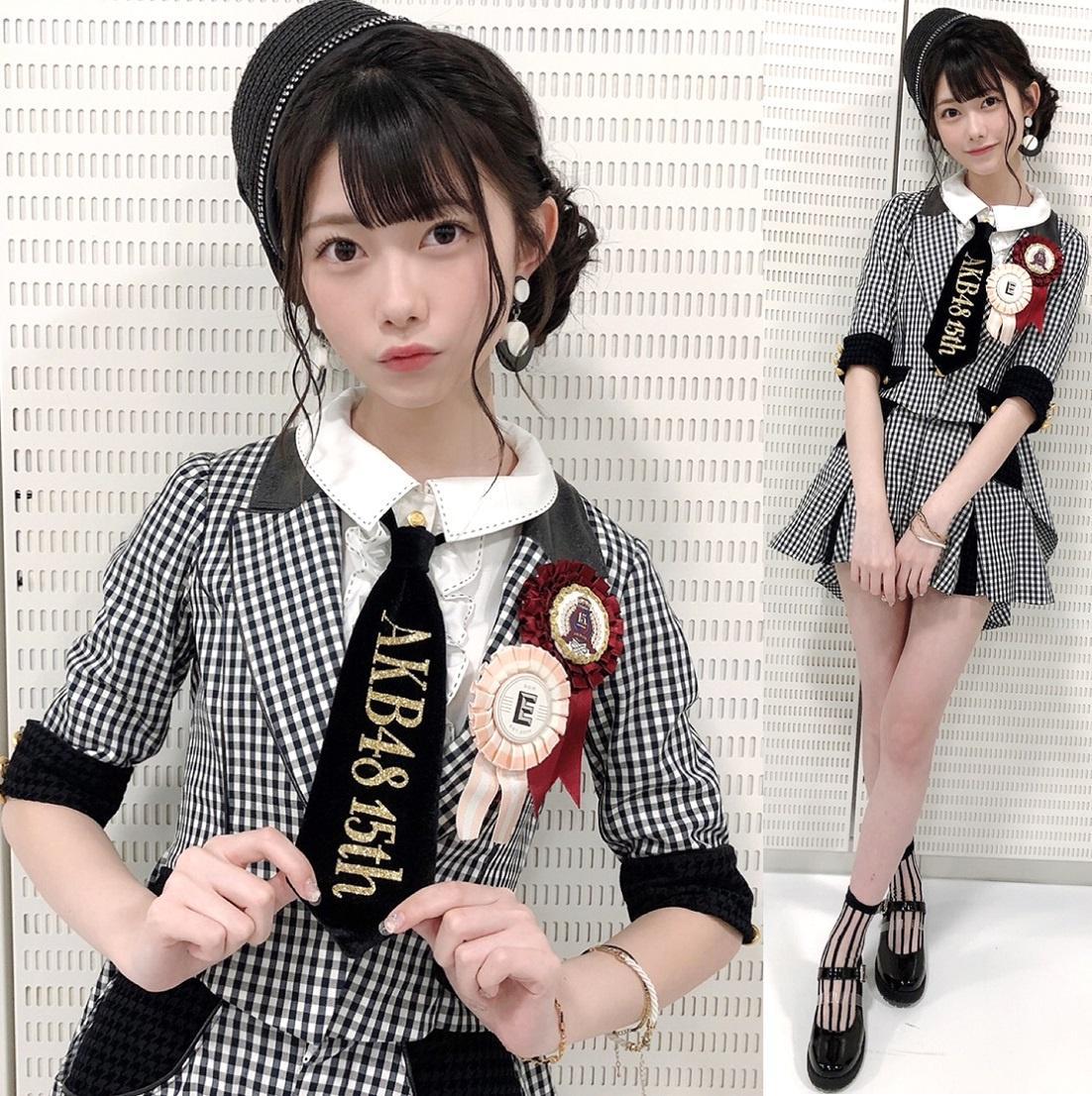 【画像】AKB48の9頭身次世代エース可愛すぎワロタwww