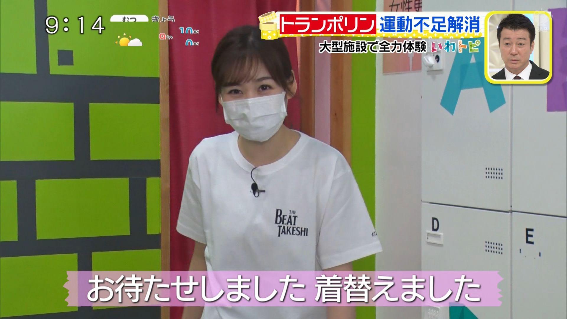 【画像】女子アナ、TVでがっつりM字開脚してしまう放送事故wwww