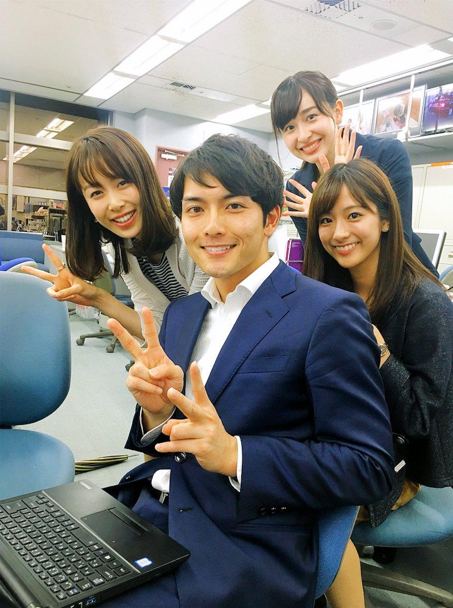 【画像】10股以上してたイケメン男アナの顔wwww
