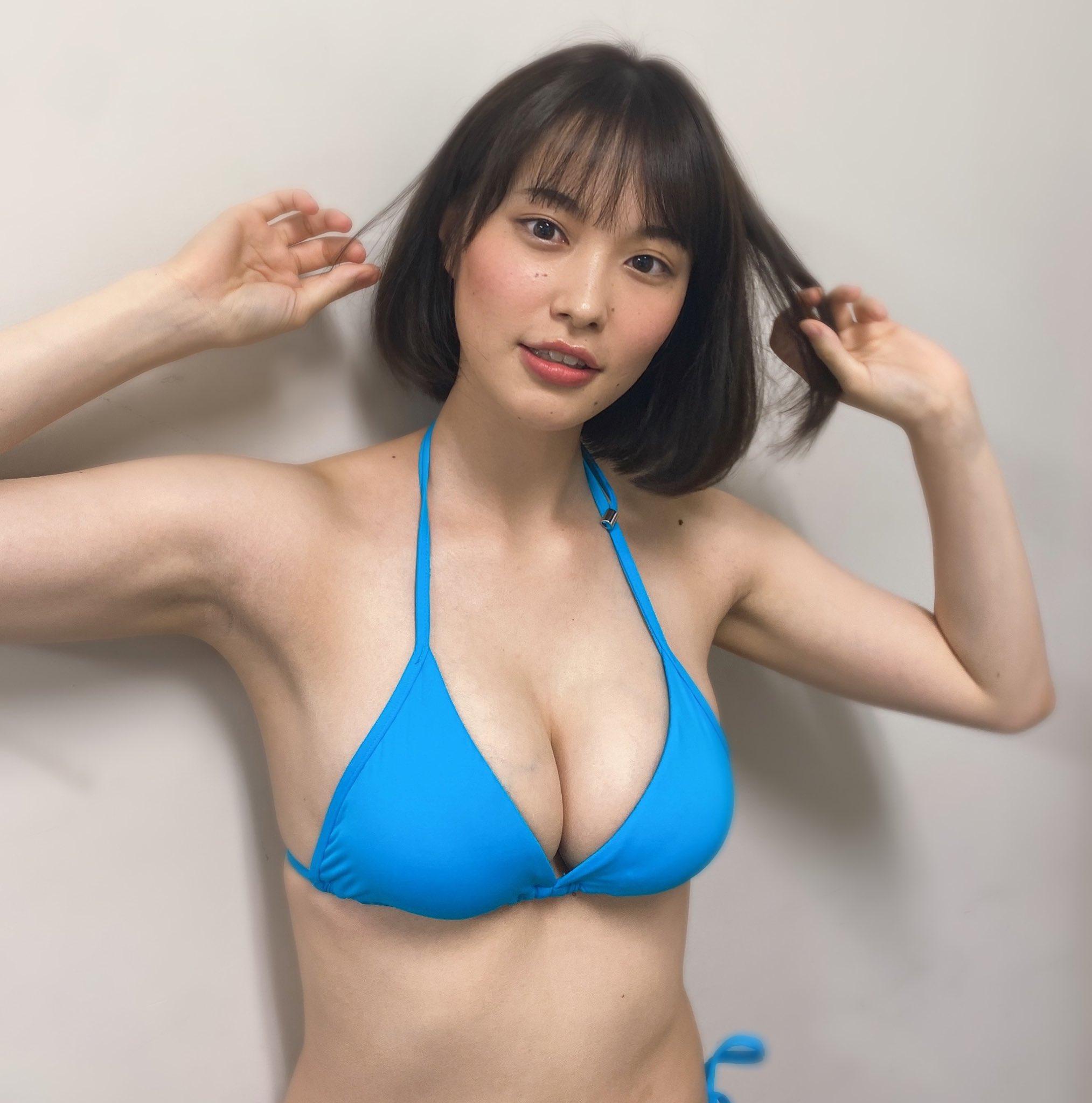 【画像】広瀬すずっぽい新人巨乳グラドル見つけたで!!!