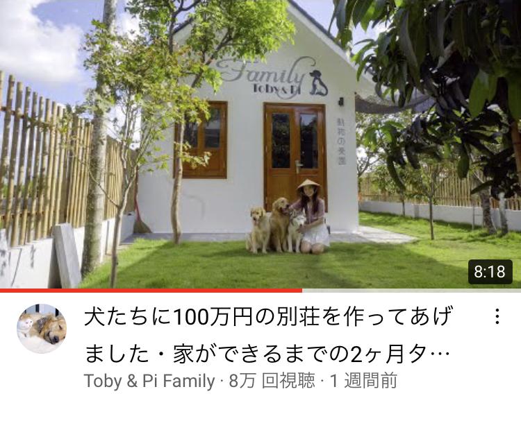 【悲報】ベトナムの富豪YouTuber、100万円の犬小屋を建ててしまうwww