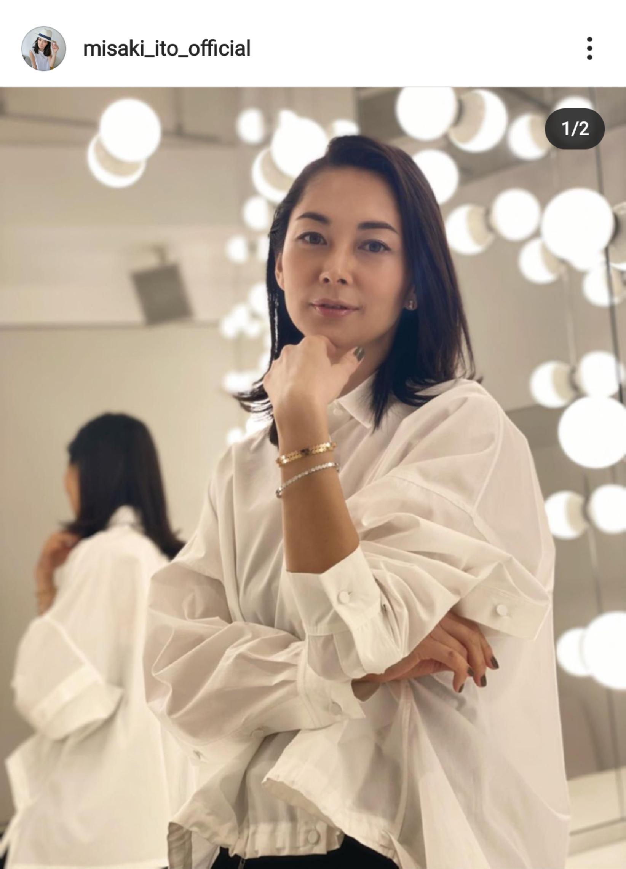 【画像】伊東美咲さん(44)、いい感じになるwww