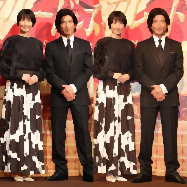 【画像】木村拓哉さん(176cm)と長澤まさみさん(168cm)が並んだ結果、完璧な美男美女ペアだと話題にwwwwwwwww