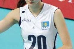 【画像】カザフスタンの17歳女子バレーボール選手が美しすぎる