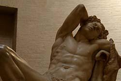 彫刻像たちにジーンズやシャツを着させてみたら思いの外似合っててワロタwwww